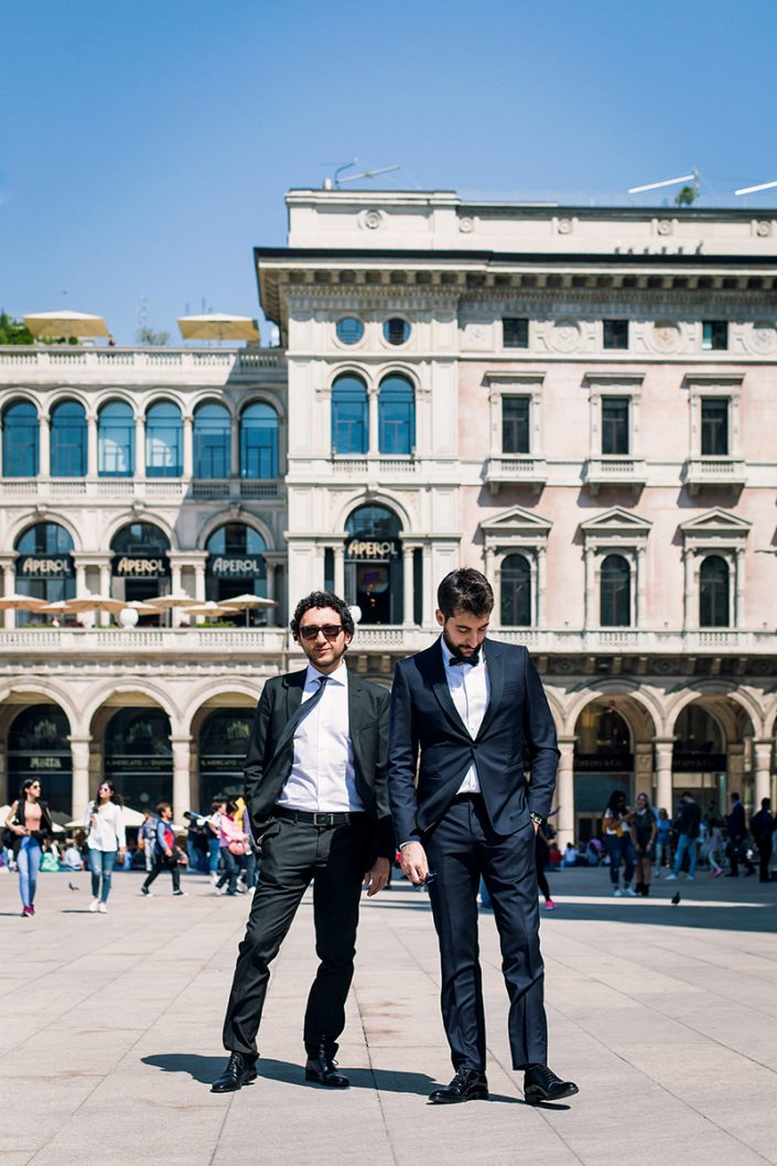 Wedding in Milan, Italy