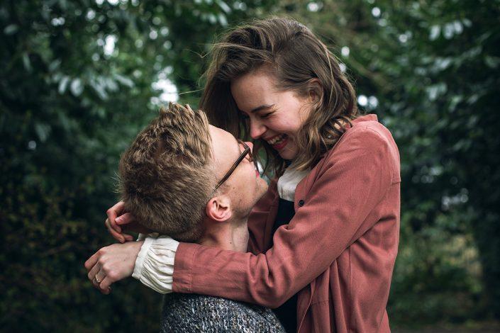 Isabel e Ben | Servizio fotografico di coppia a Exeter