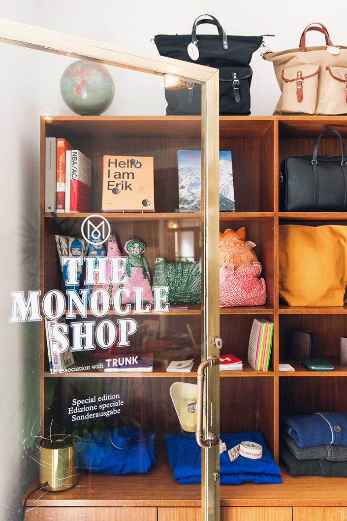 The Monocle Shop in Merano