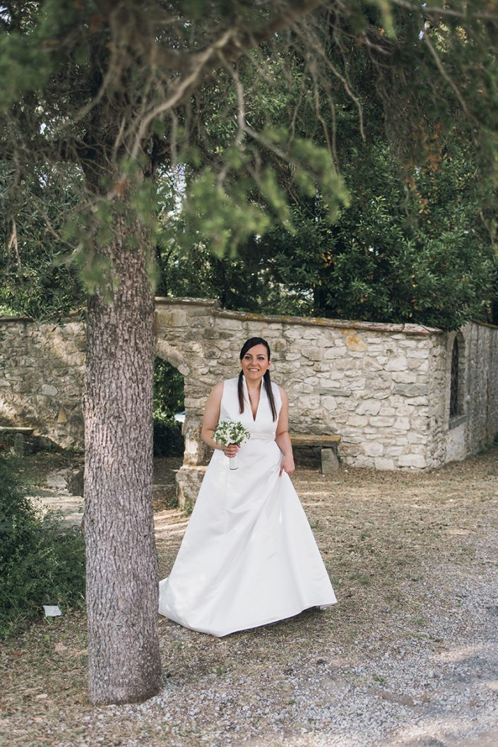 Wedding photography Tuscany - ceremony Convento dell'Incontro