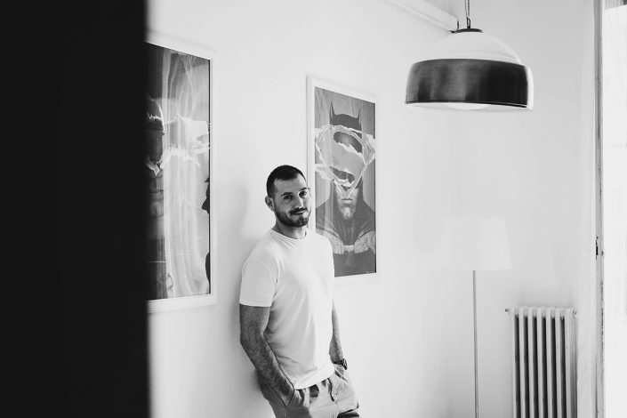 In home photography session with Luca de Santis
